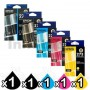 5-Pack Epson 273 Genuine Ink Combo [1BK,1PBK,1C,1M,1Y]