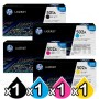 4 Pack HP Q6470A-Q6473A (501A/502A) Genuine Toner Cartridges [1BK,1C,1M,1Y]