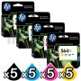 5 sets of 4 Pack HP 564XL Genuine Inkjet Cartridges CN684WA+CB323WA-CB325WA [5BK,5C,5M,5Y]
