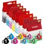 8-Pack Genuine Inkjet Cartridges for Canon PRO9000