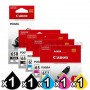 5 Pack Canon PGI-650XL CLI-651XL Genuine High Yield Inkjet Cartridges [1BK,1PBK,1C,1M,1Y]