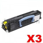 3 x Lexmark E230/E232/E330/E332/E342 Compatible Toner Cartridge (34217XR)