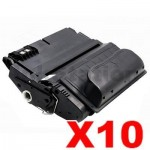 10 x HP Q1339A (39A) Compatible Black Toner Cartridge - 18,000 Pages