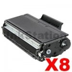 8 x Brother Compatible TN-3185 Toner Cartridge - 7,000 pages