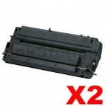 2 x HP C3903A (03A) Compatible Black Toner Cartridge - 4,000 Pages