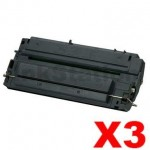3 x HP C3903A (03A) Compatible Black Toner Cartridge - 4,000 Pages
