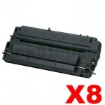 8 x HP C3903A (03A) Compatible Black Toner Cartridge - 4,000 Pages