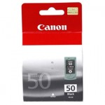 Genuine Canon PG-50 Black High Yield Ink Cartridge - 510 pages