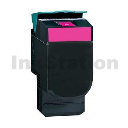 Lexmark (C540H1MG) Compatible C540 / C543 / C544 / C546 / X543 / X544 / X546 Magenta HY Toner - 2,000 pages