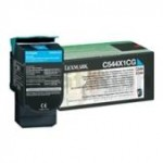 Lexmark (C544X1CG) Genuine C544 / C546 / X544 / X546 Cyan XHY Toner Cartridge - 4,000 pages