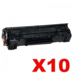 10 x Canon CART-313 Black Compatible Toner Cartridge 2,000 Pages