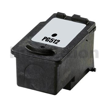 Canon PG-512 Black High Yield Compatible InkJet Cartridge - 401 pages