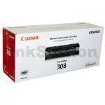 1 x Canon CART-308 Black Genuine Toner Cartridge 2,500 Pages
