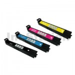 4 Pack HP CB390A, CB381A-CB383A (824A-825A) Compatible Toner Cartridges [1BK,1C,1M,1Y]