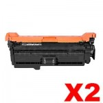 2 x HP CF320A (652A) Compatible Black Toner Cartridge  - 11,500 Pages