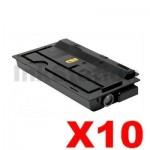 10 x Non-Genuine alternative for TK-7209 Black Toner suitable for Kyocera TASKalfa 3510I - 35,000 Pages