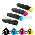 4 Pack Non-Genuine alternative for TK-8509 Toner Cartridges suitable for Kyocera TASKalfa 4550ci, 4551ci, 5550ci, 5551ci [1BK,1C,1M,1Y]