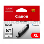 Genuine Canon CLI-671XLGY Grey High Yield Inkjet