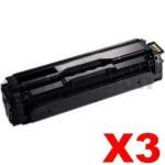 3 x Compatible Samsung CLP-415, CLX-4170, CLX-4195 [CLT-K504S K504] Black Toner SU160A 2,500 pages