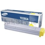 Genuine Samsung CLX-Y8380A Yellow Toner Cartridge - 15,000 pages @ 5%