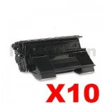10 x OKI Compatible B6300N, B6300DN Toner Cartridge - 17,000 pages (9004079)