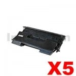 5 x OKI Compatible B6500N / B6500DN Toner Cartridge - 17,000 pages (9004462)