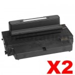 2 x Dell B2375DFW, B2375DNF Compatible Toner Cartridge - 10,000 pages