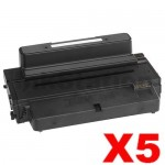 5 x Dell B2375DFW, B2375DNF Compatible Toner Cartridge - 10,000 pages