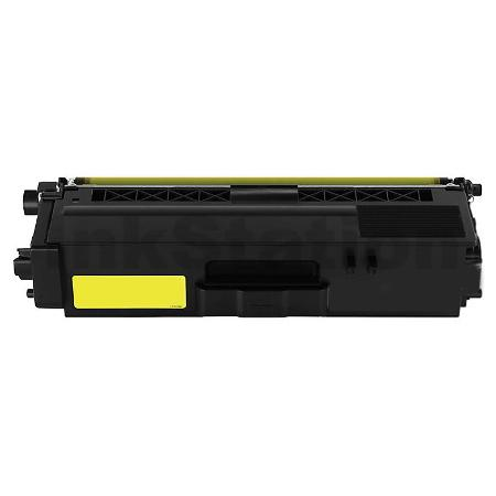 Compatible Brother TN-346Y Yellow High Yield Toner Cartridge - 3,500 pages