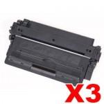 3 x Canon CART-309 Black Compatible Toner Cartridge 12,000 Pages