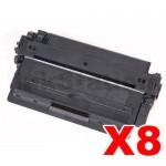 8 x Canon CART-309 Black Compatible Toner Cartridge 12,000 Pages