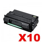 10 x Compatible Samsung ML3750ND Toner Cartridge (MLT-D305L 305) SV049A - 15,000 pages