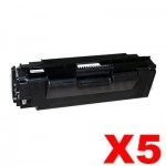 5 x Compatible Samsung ML5010ND High Yield Toner Cartridge SV067A - 15,000 pages (MLT-D307L 307)