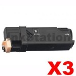 3 x Fuji Xerox DocuPrint C2120 Compatible Black Toner Cartridge - 3,000 pages (CT201303)