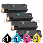 4 Pack Compatible Fuji Xerox DocuPrint CP305d,CM305df Toner Cartridges (CT201632-CT201635)
