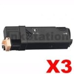 3 x Compatible Fuji Xerox DocuPrint CP305d,CM305df Black Toner Cartridge (CT201632) - 3,000 pages
