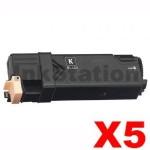 5 x Compatible Fuji Xerox DocuPrint CP305d,CM305df Black Toner Cartridge (CT201632) - 3,000 pages