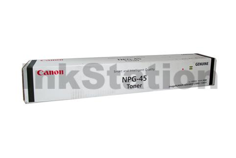 1 x Genuine Canon (GPR-30) TG-45 Black Toner - 44,000 pages