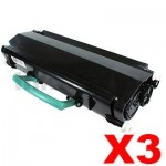 3 x Lexmark (24017SR) Compatible E240 Toner Cartridge - 2,000 pages