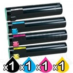 4 Pack Lexmark Compatible C935 Toner Cartridges - BK 25,000 pages & CMY 16,000 pages