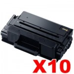 10 x Compatible Samsung SLM3820 / SLM3870 / SLM4020 / SLM4070 (MLT-D203L 203L) High Yield Black Toner SU899A - 5,000 pages