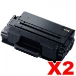 2 x Compatible Samsung SLM3820 / SLM3870 / SLM4020 / SLM4070 (MLT-D203L 203L) High Yield Black Toner SU899A - 5,000 pages
