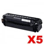 5 x Compatible Samsung SLC2620 SLC2670 SLC2680 Black Toner Cartridge SU169A CLT-K505L - 6,000 pages [CLTK505L K505]