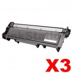 3 x Brother TN-2350 Compatible Toner Cartridge - 2,600 pages