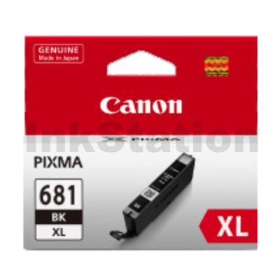 Canon CLI-681XLBK High Yield Genuine Black Inkjet Cartridge - 515 pages