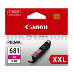 Canon CLI-681XXLM Extra High Yield Genuine Magenta Inkjet Cartridge - 760 pages