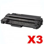 3 x Dell 1130 / 1130N / 1133 / 1135N Compatible Toner Cartridge - 2,500 pages
