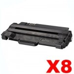 8 x Dell 1130 / 1130N / 1133 / 1135N Compatible Toner Cartridge - 2,500 pages