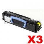 3 x Dell 2230D Compatible Black Toner Cartridge - 3,500 pages