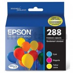 Epson 288 (C13T305592) Genuine Inkjet Cartridge CMY Value Pack [1C,1M,1Y]